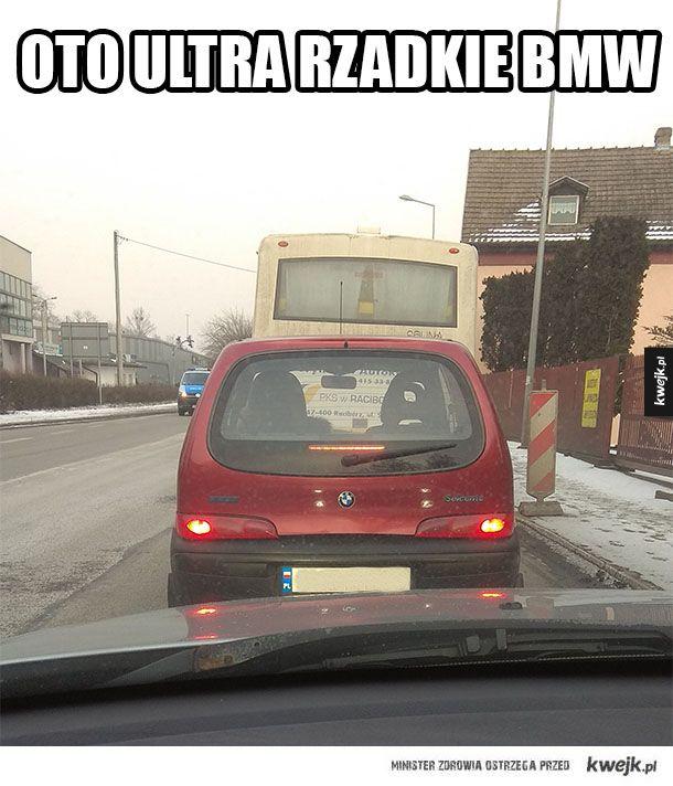Bardzo rzadki BMW