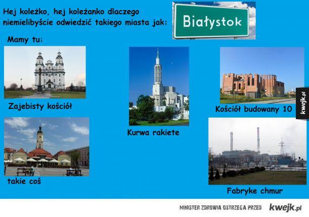 Białystok piękne miasto