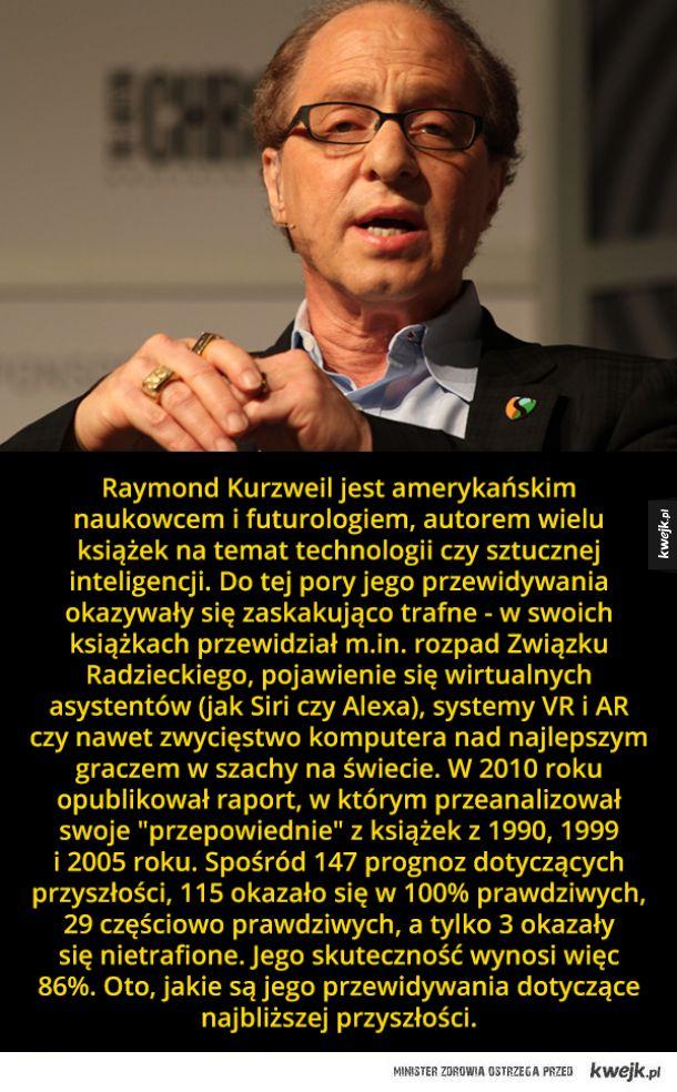 Jak zmieni się nasz świat zdaniem futurologa Raya Kurzweila