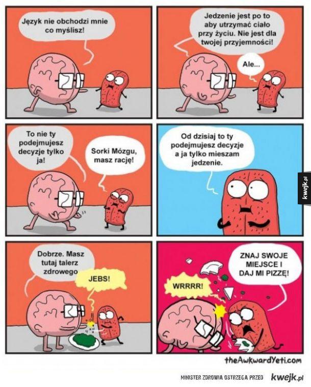 Mózg vs język