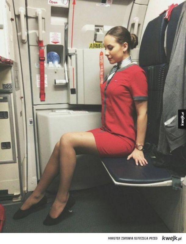 Stewardessy są przepiękne!