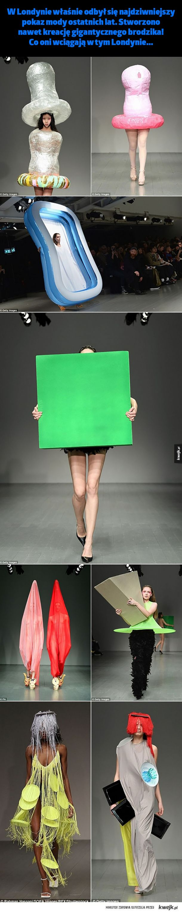 Najdziwniejszy pokaz mody ostatnich lat.