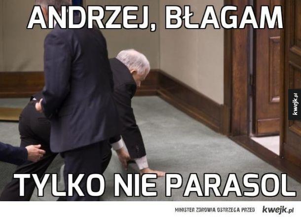 Andrzeju, uspokój się!