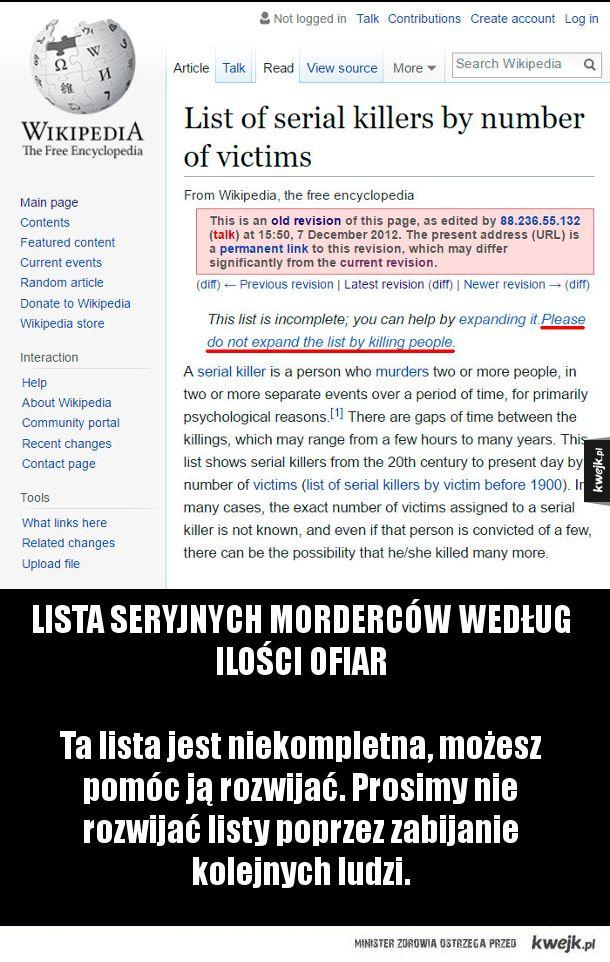 Kiedy internetowi trolle zabiorą się za wpisy do Wikipedii