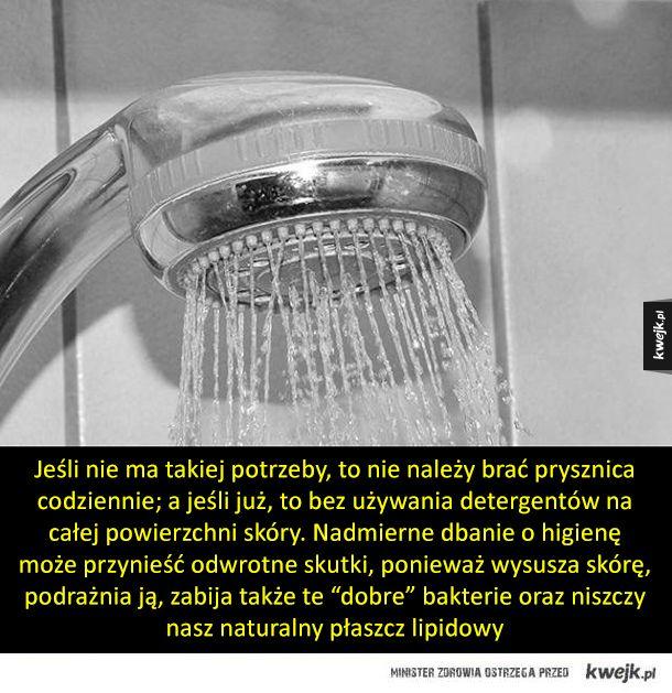 Myślisz, że wiesz jak brać prysznic? To możesz się zdziwić