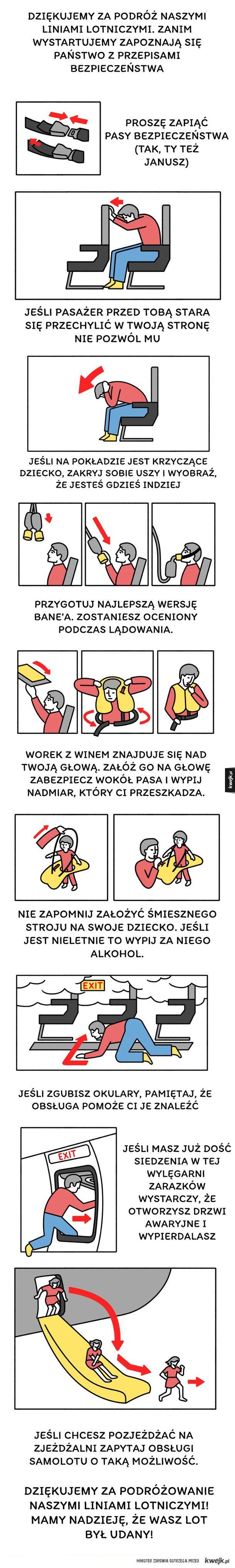 Przepisy bezpieczeństwa