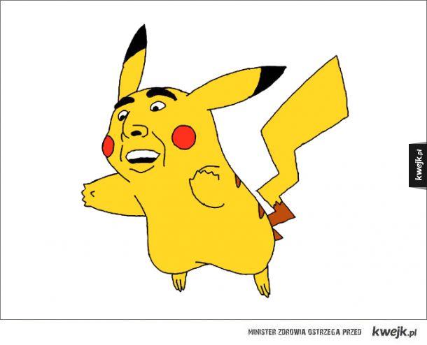 Pokemony z twarzą Nicolasa Cage'a