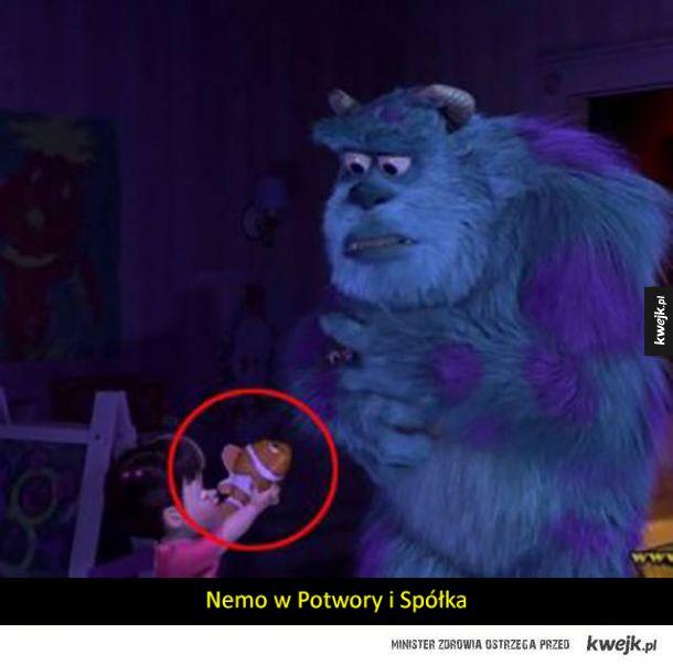 Postacie z kreskówek Disneya czasem pojawiają się w innych kreskówkach Disneya