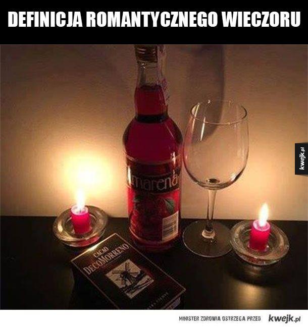 Romantyczny wieczór solo