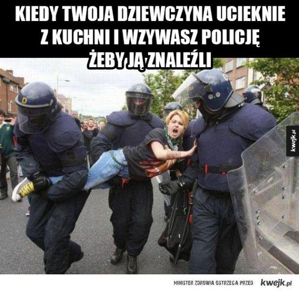 Szanuję panów policjantów
