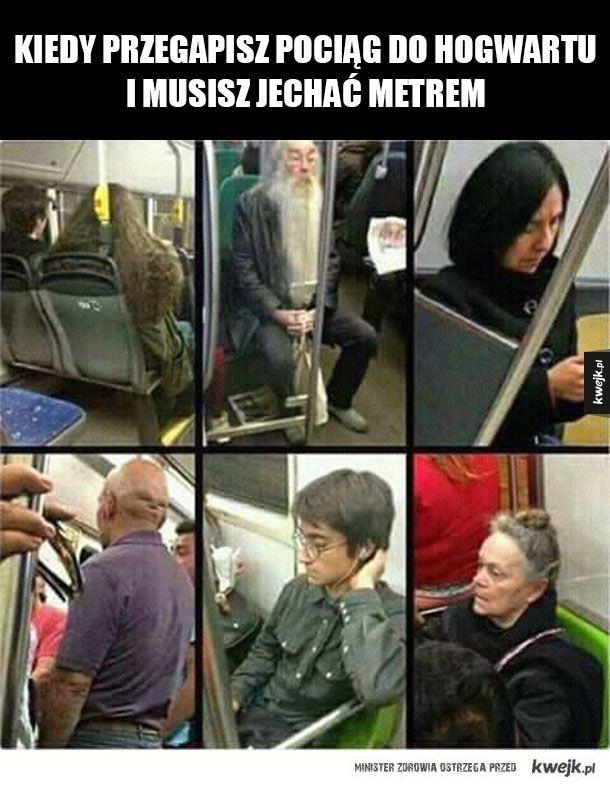 Spóźnili się na pociąg