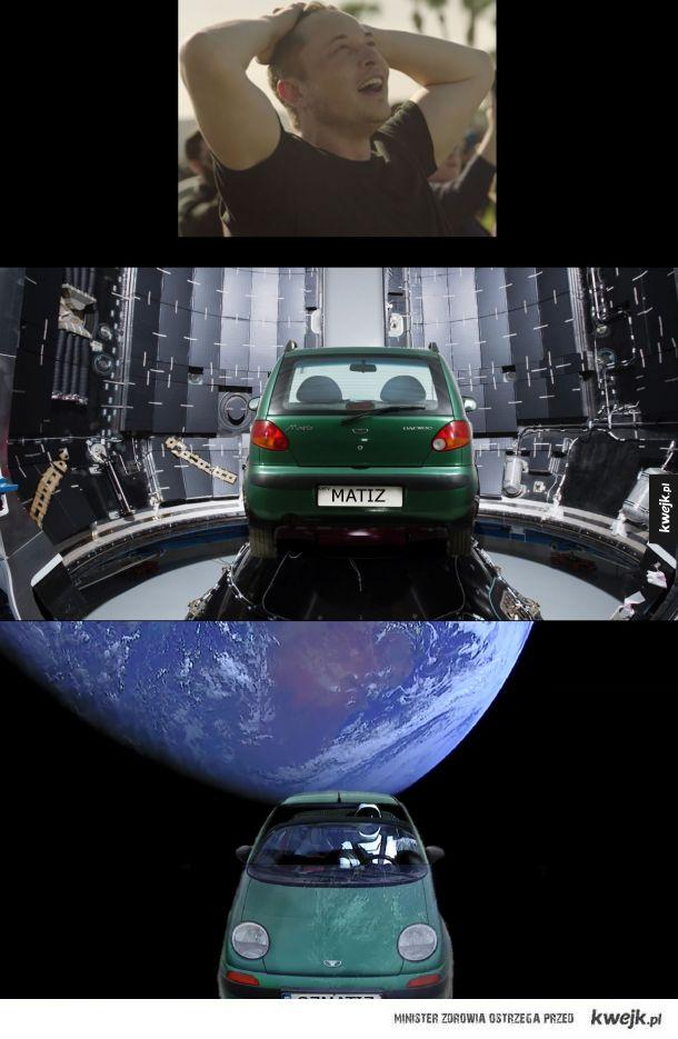 Co Elon powinien był wysłać w kosmos