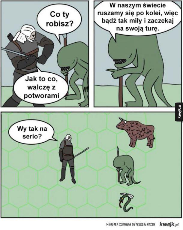 Wiedźmin vs Heroes