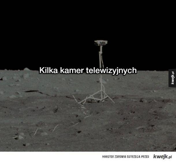 Na Księżycu znajduje się ponad 180 ton śmieci