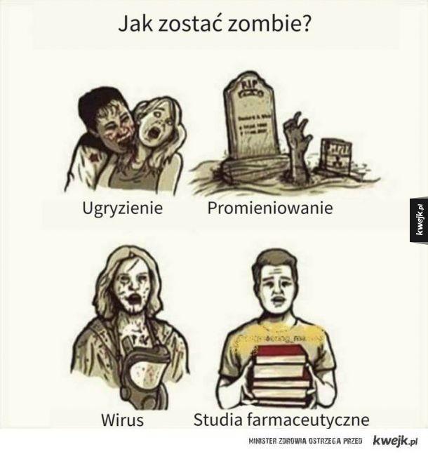 Jak zostać zombie