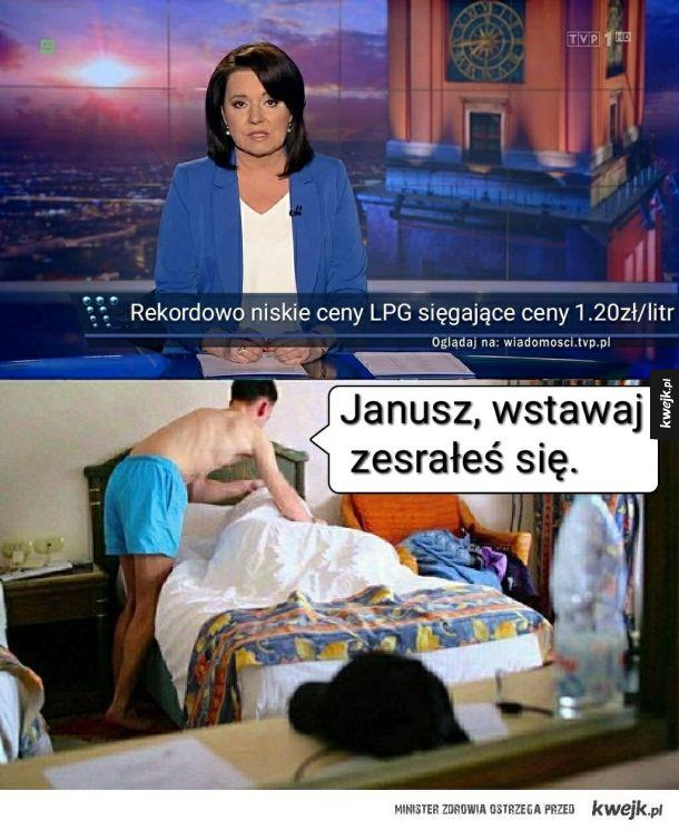 Janusz wstawaj