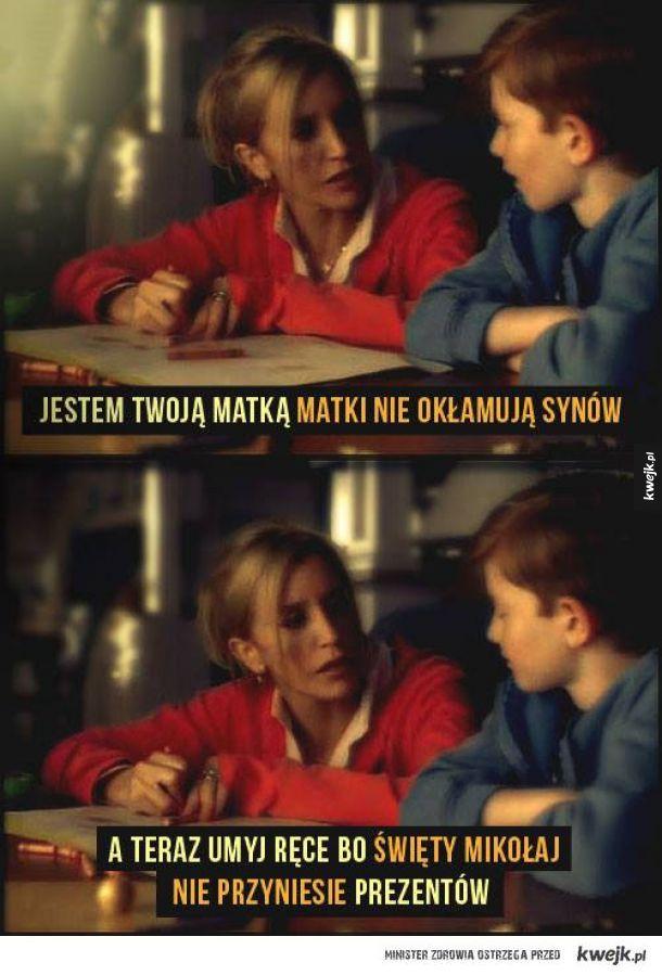Matki nie okłamują synów