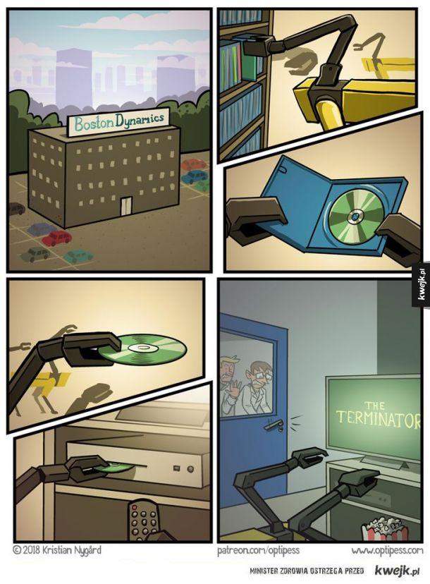 Roboty przejmują kontrolę nad światem