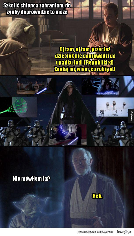 Obi-Wan Kenobi i Yoda