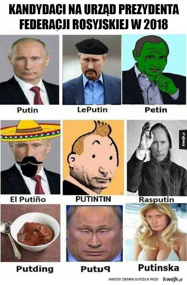 Kandydaci na prezydenta Rosji