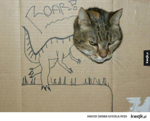 Przerażające dinozaury!
