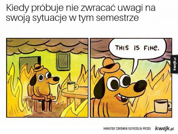 Ciężki semestr