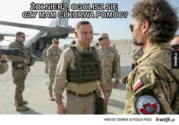 Żołnierzu nie żartuj sobie