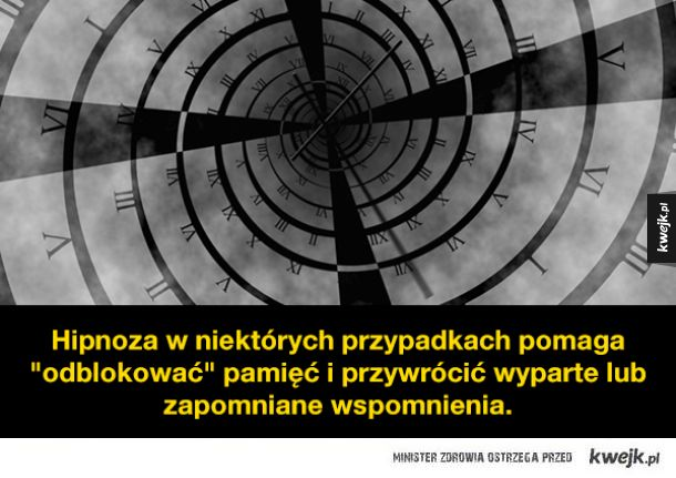 Ciekawostki o hipnozie