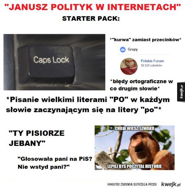 Kiedy Janusz dorwie się do internetu