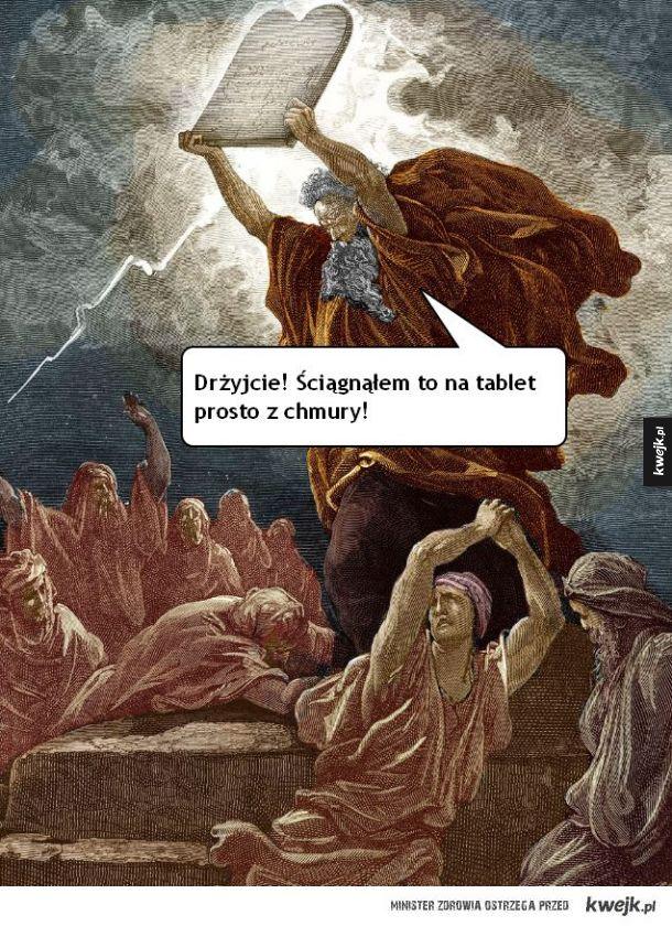 Gdyby Mojżesz żył dziś