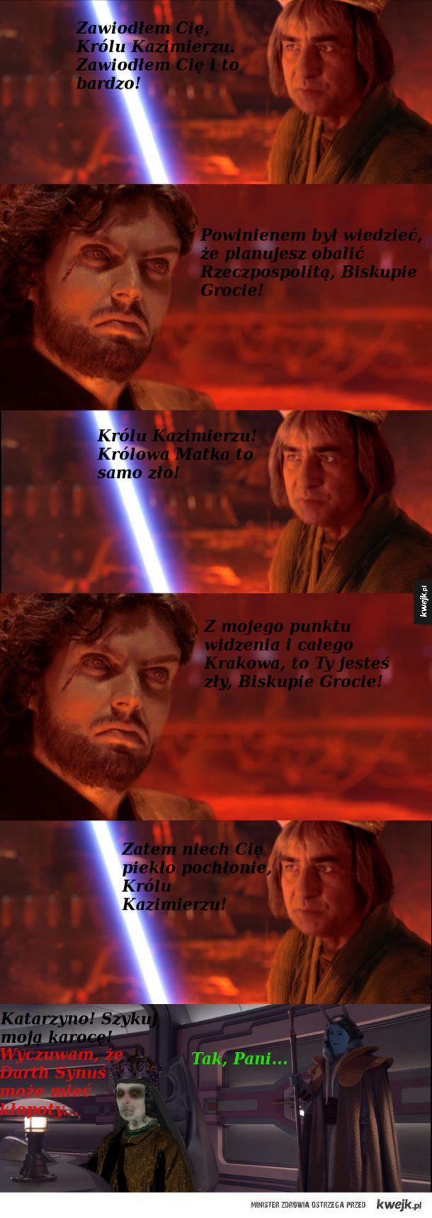 """Gdyby Polacy kręcili """"Gwiezdne Wojny"""""""