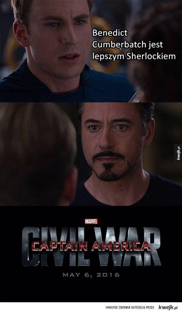 Memy i śmieszki z Marvela