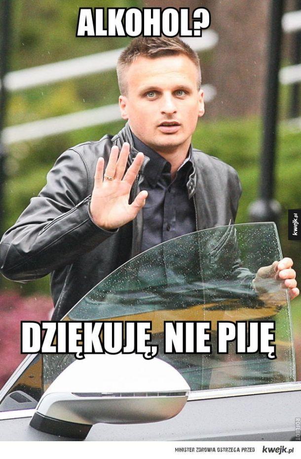 Sławku Peszko pijany koleszko