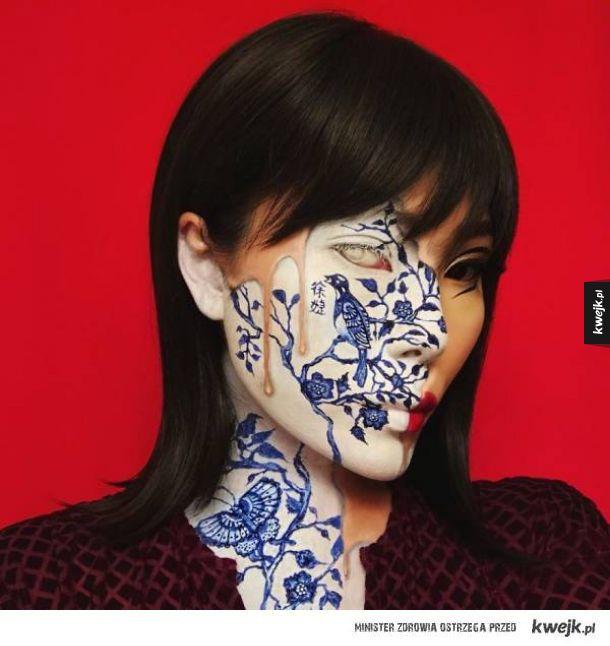 Kolejna porcja niesamowitych makijaży Mimi Choi
