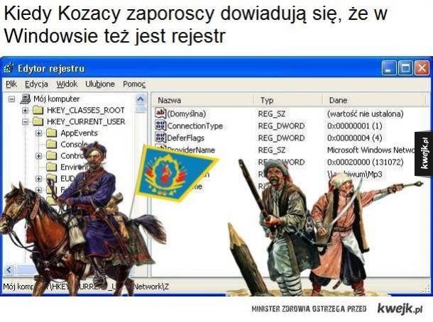 Kozacy urządzają powstanie