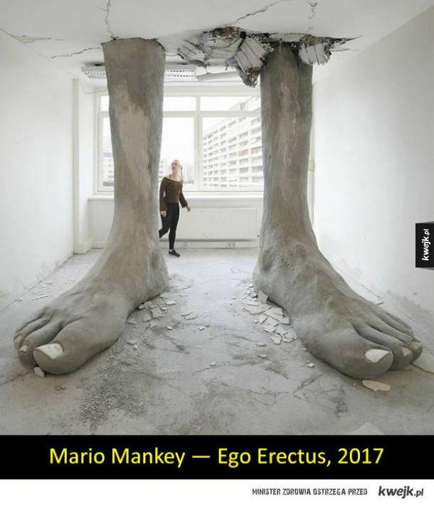 Niesamowite i ciekawe rzeźby współczesne