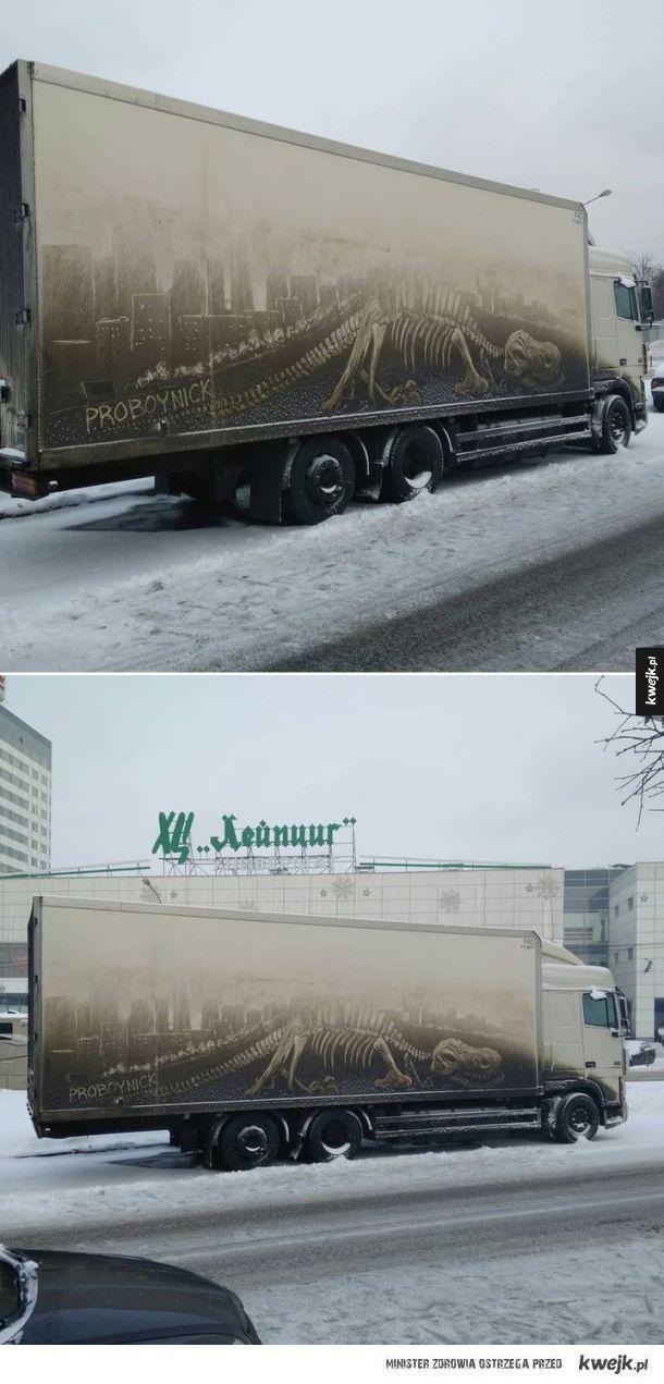 Kiedy zaparkujesz brudnym autem przed rosyjską ASP