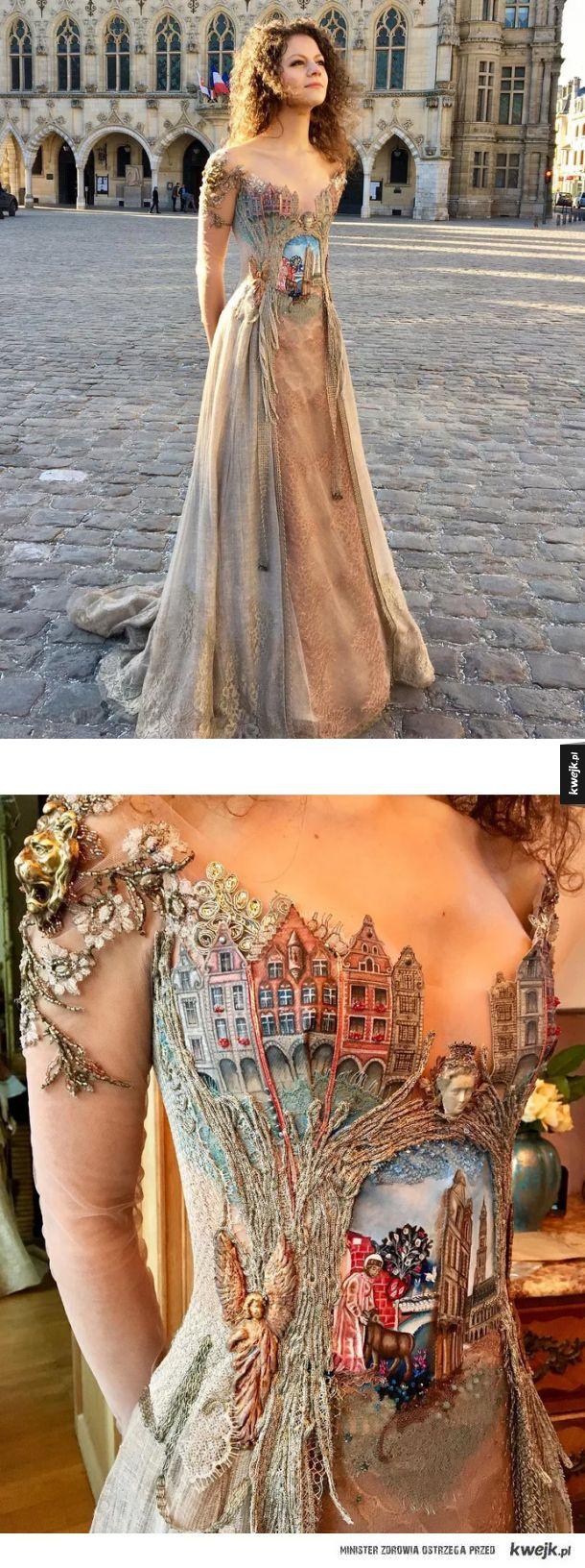 Fajna suknia