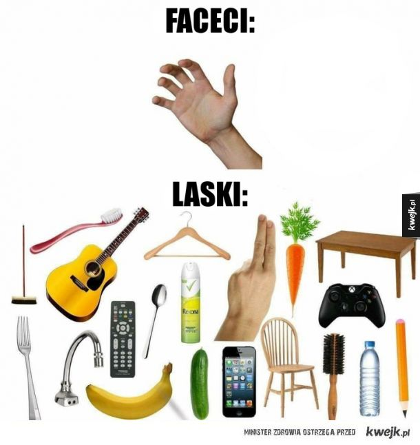 Faceci vs. laski