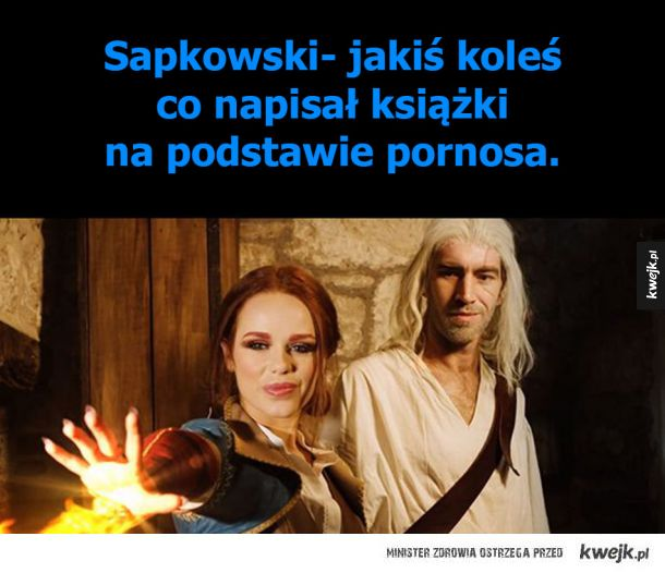 Sapkowski wielki pisarz