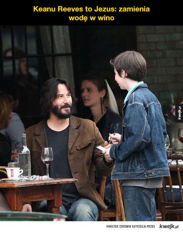 Bo Keanu Reeves jest niesamowity