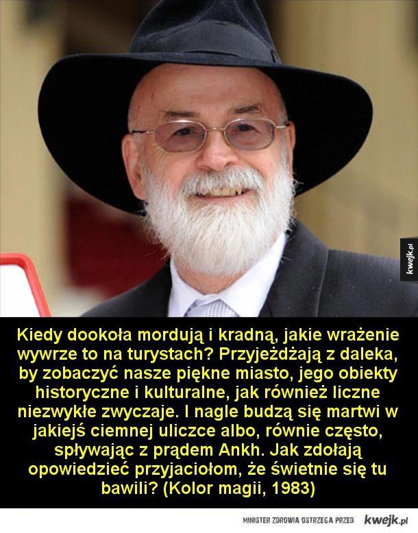 Cytaty ze Świata Dysku Terry'ego Pratchetta