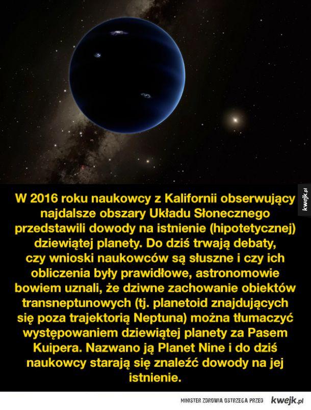 Planet 9, tajemnicza dziewiąta planeta Układu Słonecznego