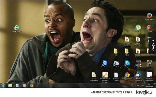 Kreatywne desktopy