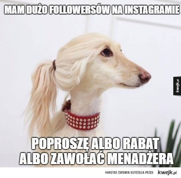 Instagramowa modelka