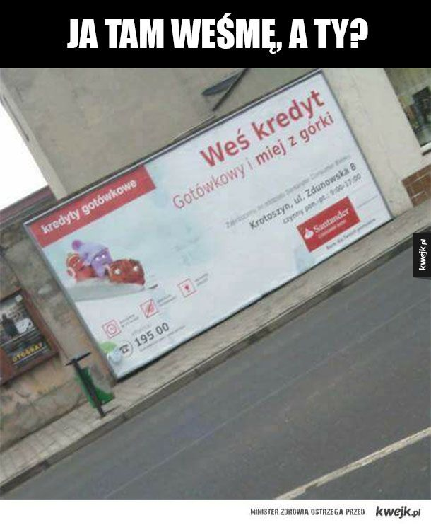 Janusze reklamy