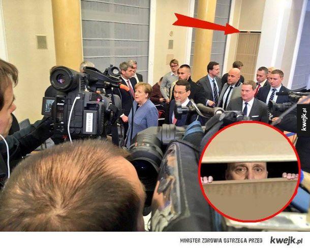 Grzegorz się schował