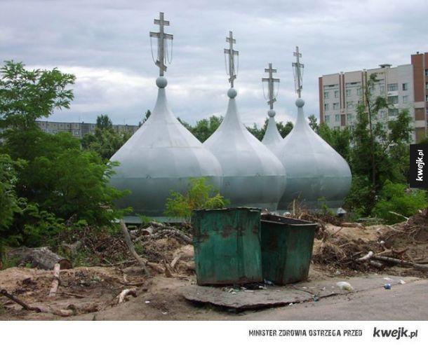 Typowa rosyjska architektura