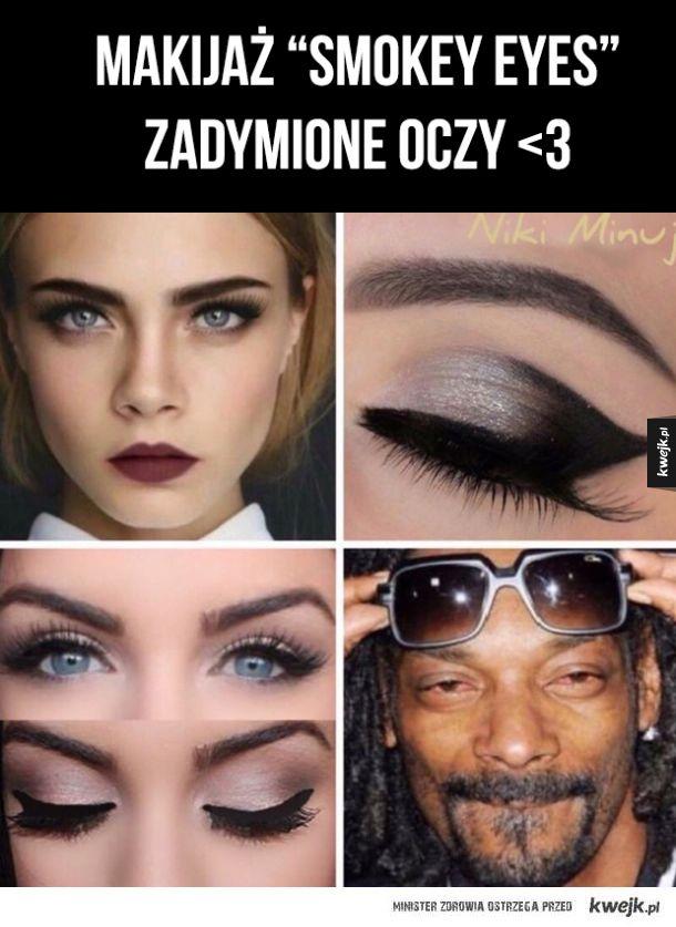 Cudny makijaż