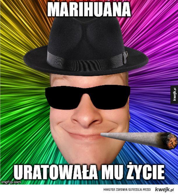 Marihuana uratowała mu życie